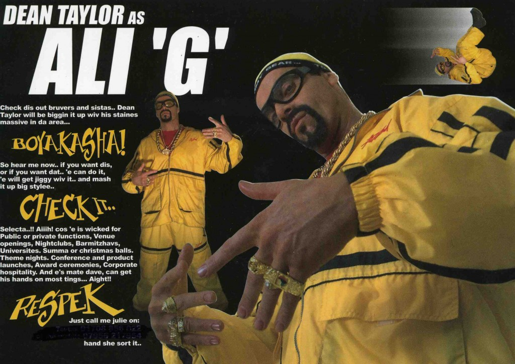 Ali G Without