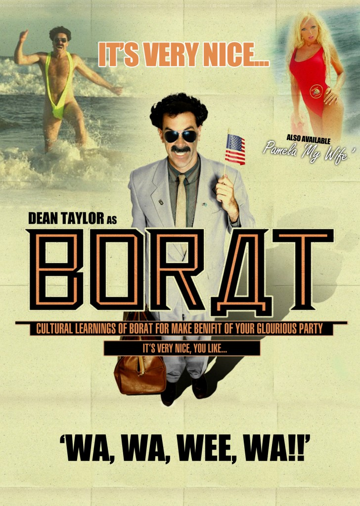 Borat(Front) without e mail
