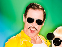 Dean Taylor as Freddy Mercury